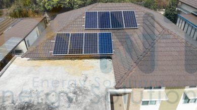 2.56 kWp For Residential (The cottage Village, Mueang Rayong district, Rayong)