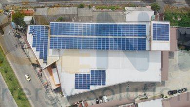 152 kWp On-grid หจก.บุรีรัมย์ซัพพลายอีเล็คโทรนิค (จ.บุรีรัมย์)