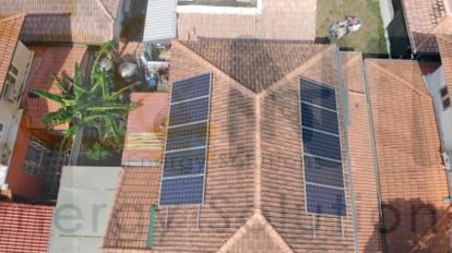 3.20kWp บ้านพักอาศัย (หมู่บ้านพงษ์เพชรพาร์ค จ.ระยอง)