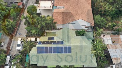4.80kWp Residential (Rat Bamrung Road, Noen Phra Subdistrict, Mueang District, Rayong Province)