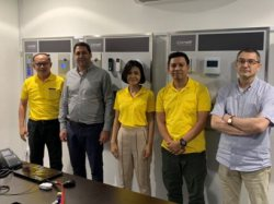Comelit Products Training in Singapore