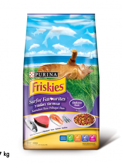 Friskies รส รวมมิตรปลาทะเล