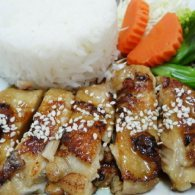Teriyaki Sauce with Chicken Rice