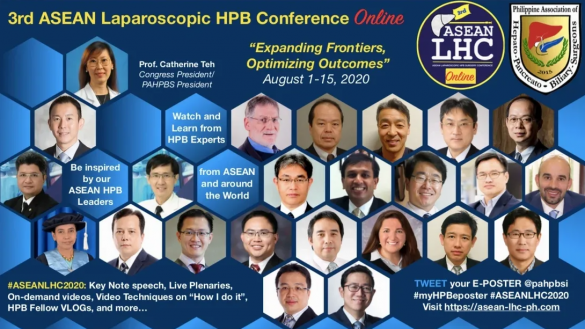 3rd ASEAN Laparoscopic HPB conference