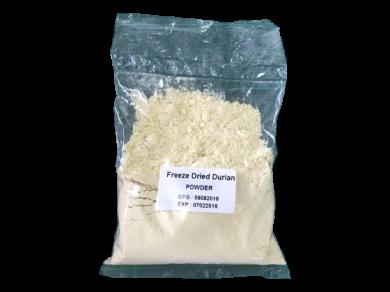 ผงทุเรียนอบกรอบ (Freeze Dried Durian POWDER)