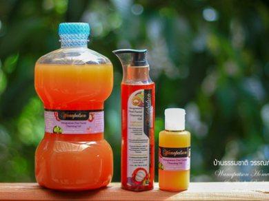 เจลล้างหน้าเปลือกมังคุด (Mangosteen Pericarp Facial Gel) 170 ml