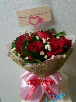 ช่อดอกไม้-009