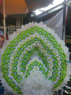 พวงหรีดดอกไม้จันทน์-004