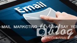 E-MAIL MARKETING ที่ผู้บริโภค SAY YES!
