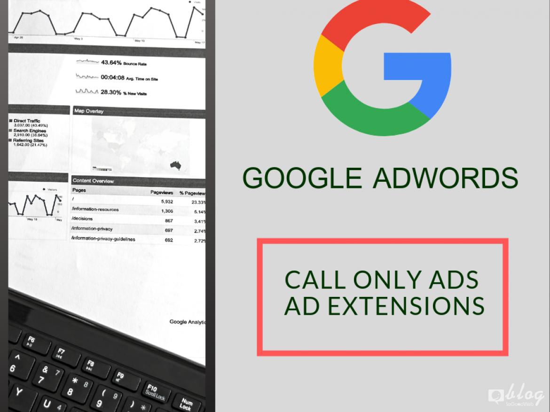 สร้างโฆษณาแบบการโทร Google Adwords