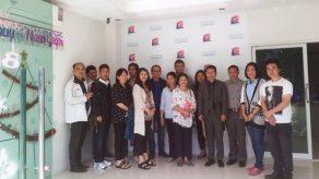 อาจารย์มหาลัยแม่โจ้ และ คณะผู้บริหารจากกระทรวงเกษตร ของประเทศภูฏาน