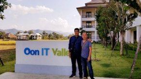 ดร.ชัชชาติ สิทธิพันธ์ ได้มีโอกาสมาเยี่ยมที่ Oon IT Valley