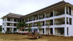 อาคารสำนักงาน 3 ชั้นของ OV ได้สร้างเสร็จแล้ว