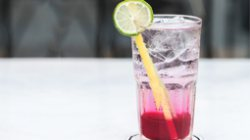 Ice Red soda