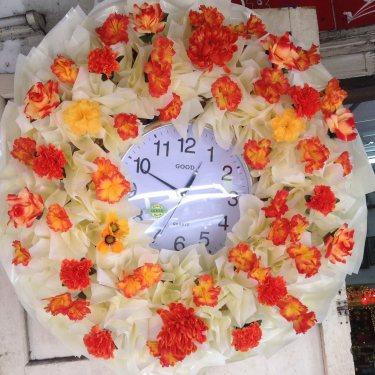 พวงหรีดนาฬิกา ID:WX-1002