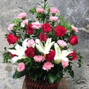 แจกันดอกไม้ ID:VA 1204