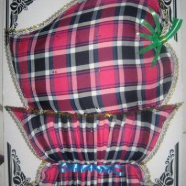 พวงหรีดผ้า (พานผลไม้) ID:WR PTI-0801