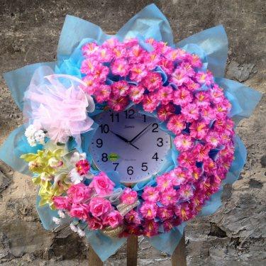 พวงหรีดนาฬิกา ID:WX-1203