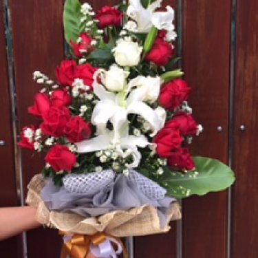ช่อดอกไม้ ID: BO 2027