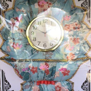 พวงหรีดผ้านวม (นาฬิกา) ID:WR NUM-1507