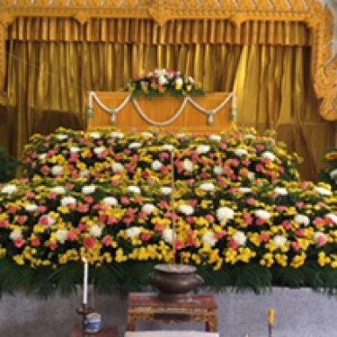 ดอกไม้หน้าศพ และ ดอกไม้ประดับเมรุ  ID:CR-18005