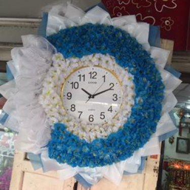 พวงหรีดนาฬิกา ID:WX-1514