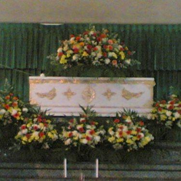 ดอกไม้หน้าศพ และ ดอกไม้ประดับเมรุ  ID:CR-5002