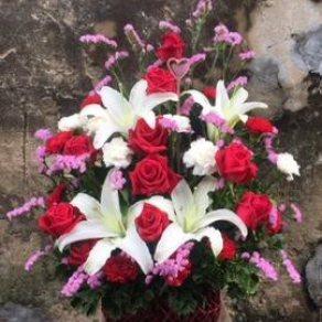แจกันดอกไม้ ID:VA 1501