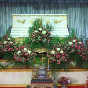 ดอกไม้หน้าศพ และ ดอกไม้ประดับเมรุ  ID:CR-6506