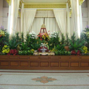 ดอกไม้หน้าศพ และ ดอกไม้ประดับเมรุ  ID:CR-30004