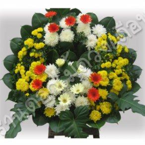 พวงหรีดดอกไม้สด ID:WR 1017