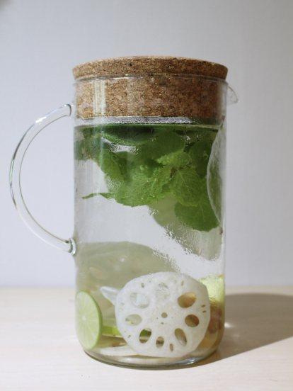 เครื่องดื่มบัวแปรรูปจาก lotus herb beverage