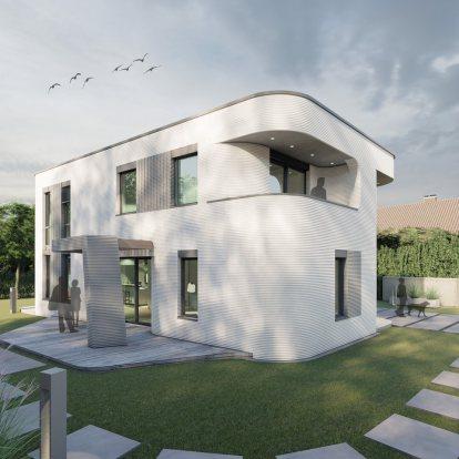 แบบบ้านจาก 3D print house