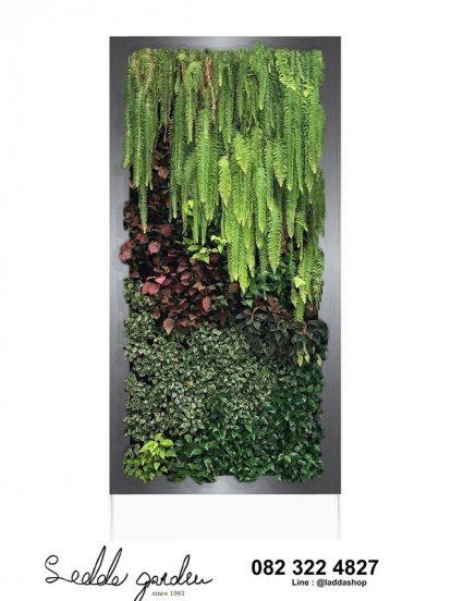 กรอบรูปต้นไม้จริงในร่มสมัยใหม่