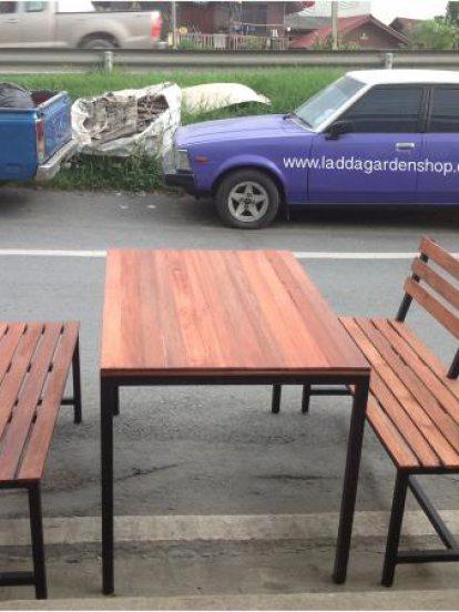 ชุดโต๊ะเก้าอี้ไม้ราคาถูกคุณภาพดี