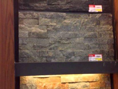 วัสดุหินกาบนาโนสำหรับงานออกแบบม่านน้ำตก