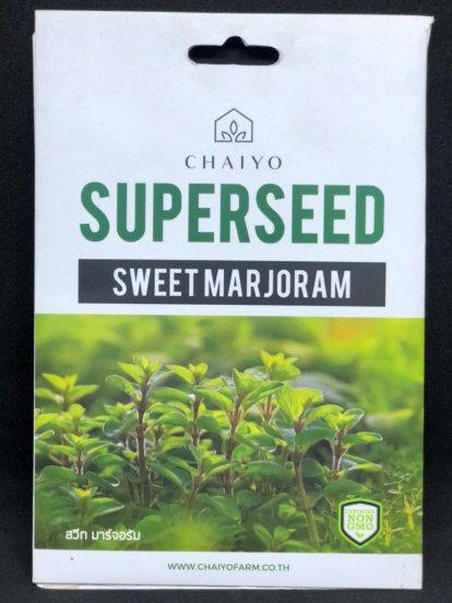 SUPERSEED Sweet majoram