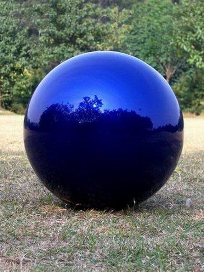 ลูกบอลโคมไฟเพดานสีน้ำเงิน