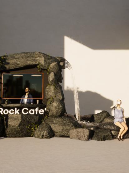 ร้านกาแฟ Rock Cafe'