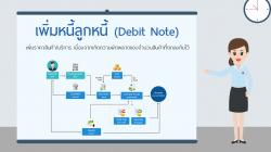 ขั้นตอนการทำ ใบเพิ่มหนี้ลูกหนี้ Debit Note