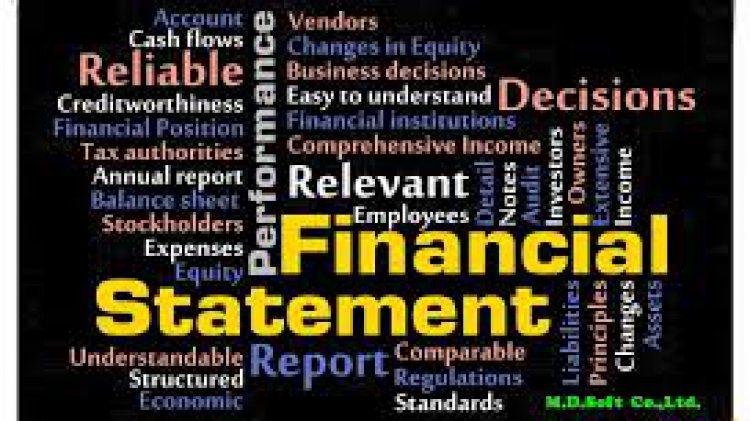 งบการเงิน คือ (financial Statement) ?