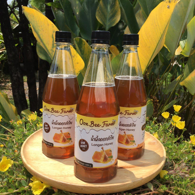 น้ำผึ้งดิบดอกลำไย Longan Honey 1000g