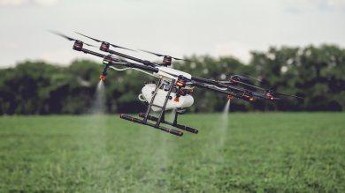 โดรนเพื่อการเกษตร
