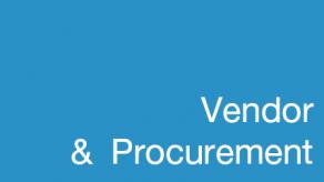 Vendor & Procurement