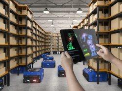 4 หุ่นยนต์-ใช้งานแทนมนุษย์ ในการจัดการ Warehouse