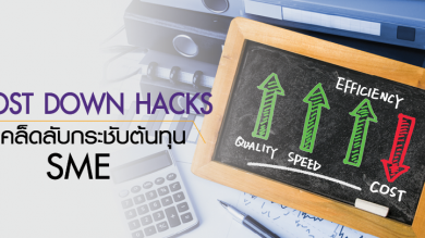 Cost down hacks 5 เคล็ดลับกระชับต้นทุน SME
