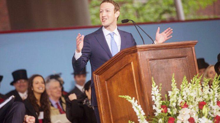 ถอดทุกคำพูดที่ Mark Zuckerberg ให้ในพิธีจบการศึกษาที่ Harvard