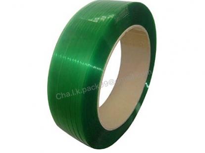 สายรัด PET [Polyester] สีเขียว