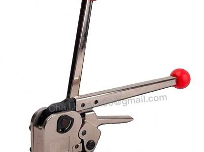 เครื่องรัดเหล็กพืดแบบมือโยก [MH35 Manual Sealless Steel Strapping tool]